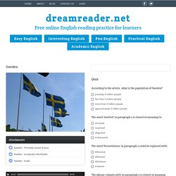 Sweden - DreamreaderDreamreader