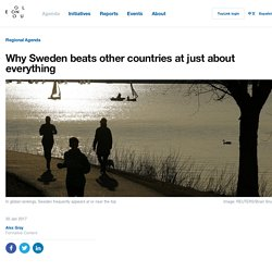 Why Sweden beats other countries at just about everything