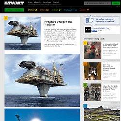 Sweden's Draugen Oil Platform