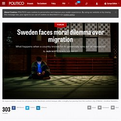 Sweden faces moral dilemma over migration