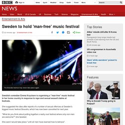 Sweden to hold 'man-free' music festival