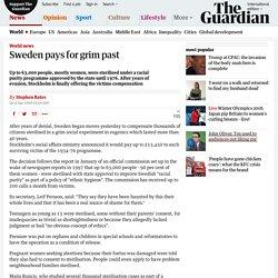 Sweden pays for grim past