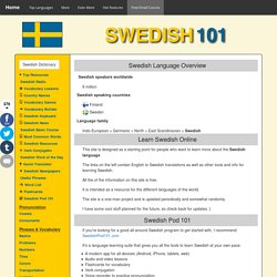 Learn Swedish online for FREE!