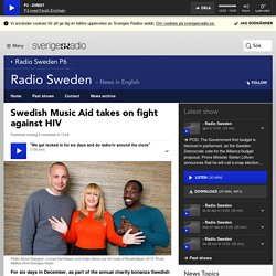 Swedish Music Aid takes on fight against HIV - Radio Sweden