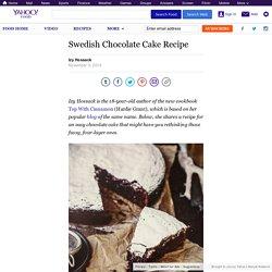 Swedish Chocolate Cake Recipe