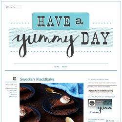 Swedish Kladdkaka « Have a Yummy Day