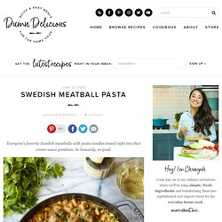 Swedish Meatball Pasta