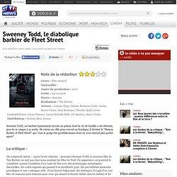 Sweeney Todd - Film cinéma