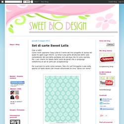 Set di carte Sweet Lolla