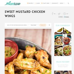 Sweet Mustard Chicken Wings