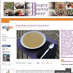 Sweet Potato and Butternut Squash Soup