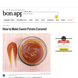How to Make Sweet Potato Caramel
