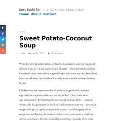 Sweet Potato-Coconut Soup