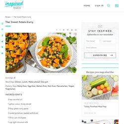 Thai Sweet Potato Curry Recipe