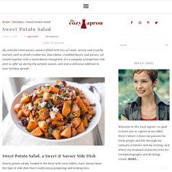 Patates douces en salade