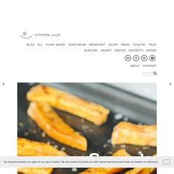 Sweet Potato Fries with Yoghurt Avocado Dip
