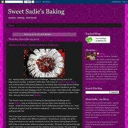 Sweet Sadie's Baking: Stollen