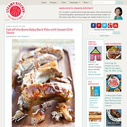 Fall off the Bone Baby Back Ribs with Sweet Chili Sauce