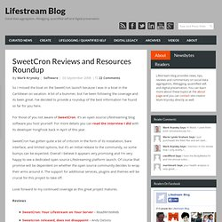 SweetCron Reviews and Resources Roundup