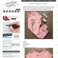 Sweetheart Ballet Tee Tutorial