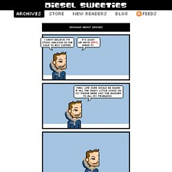 diesel sweeties_ pixelated robot romance web comic & t-shirt party