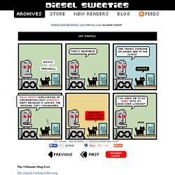 diesel sweeties : robot webcomic and geeky music t-shirts