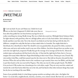 """Sweetness"""