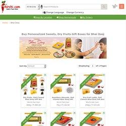 Personalized Bhai Dooj Gift Box - Mirchi