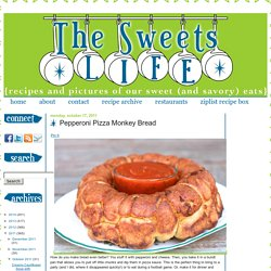 The Sweets Life: Pepperoni Pizza Monkey Bread