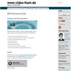 SWF Screensaver for Mac