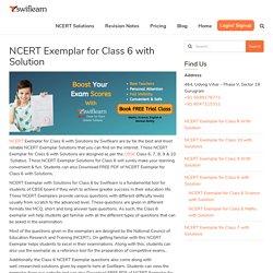 Swiflearn - NCERT Exemplar Class 6 with Solution (Maths & Science)