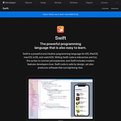 Swift - Overview