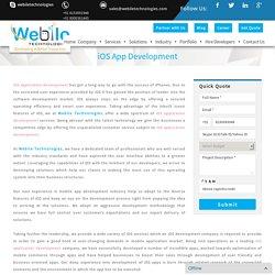 iOS App Development, Custom iOS Application Services