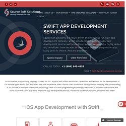 iOS Swift App Development Services