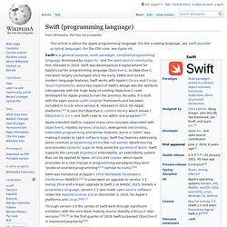 Swift (programming language)