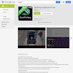 SwiftKey X Beta (Phone) - Android Market