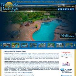 Swimming Pool Builders San Diego