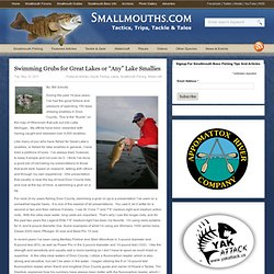 "Swimming Grubs for Great Lakes or ""Any"" Lake Smallies"