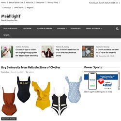Buy Swimsuits from Reliable Store of Clothes