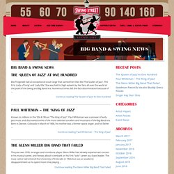 Big Band & Swing News – Discover what's going on in the world of Swing & Big Bands
