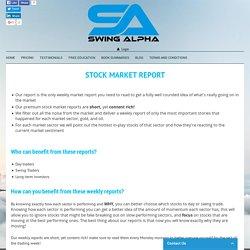 Swing Alpha - Premium Stock Market Report