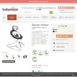 Baby Swing with Swoon Motion & Mp3 Melodies