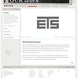 Swink | Identity | ETS Identity System