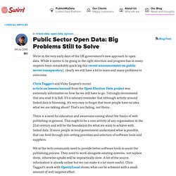 Bill Roberts on the Web of Data - Public sector open data: big p