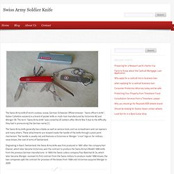 Swiss Army Soldier Knife, Victorinox, Wenger