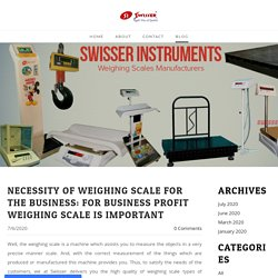 Swisser Instruments Pvt Ltd - Blog - Swisser Instruments Pvt Ltd