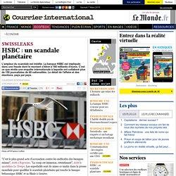 HSBC: un scandale planétaire