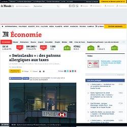 Des patrons allergiques aux taxes - Le Monde 9/02/15