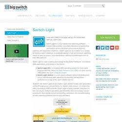 Big Switch Networks, Inc.