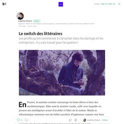 Le switch des littéraires — SWITCH COLLECTIVE